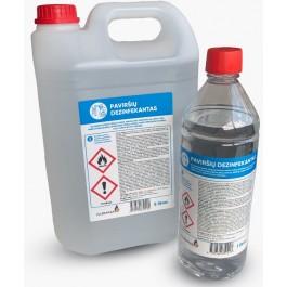 Paviršių dezinfekavimo skystis su etanoliu (72%), 1000 ml