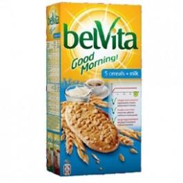 Sausainiai Belvita, 5 grūdų, pieniški, 300g