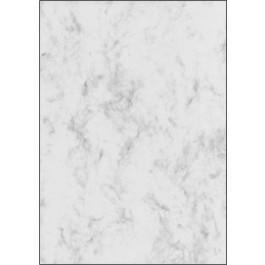 Dekoratyvinis popierius Marmor, A4, 90g, pilkšvai baltos spalvos, 100 lapų (P)