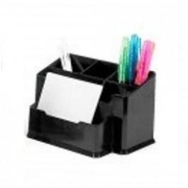 **Pieštukinė Forpus, plastikinė, 6 skyrių, juodos spalvos