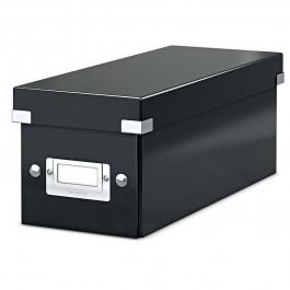 Dėžė Leitz Click&Store CD saugojimui, juodos spalvos (P)