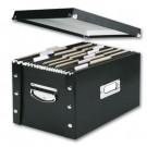 Archyvinė dėžė Leitz Click&Store, 356x282x370mm, juodos spalvos