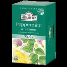Žolelių arbata Ahmad Peppermint and Lemon, 20x1,5g