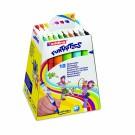 Flomasteriai Edding 14/18, 18 spalvų, Funtastic
