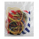 Kanceliarinės gumytės Attomex, 60mm, 50g, įvairių spalvų