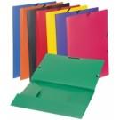 Aplankas dokumentams Viquel Chemise A4, su gumelėmis, plastikinis, žalios spalvos (P)