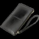 Piniginė - mini rankinė moteriška o/p juoda 11,5x20,5cm (P)
