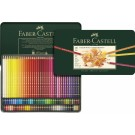 Spalvoti pieštukai Faber-Castell Polychromos, 120 spalvų