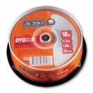 Vienkartinio įrašymo diskai Acme DVD+R, 4.7GB, 16x, 25vnt. ´tortas´