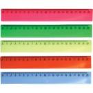 Liniuotė deVENTE, 20cm, skaidri, įvairių spalvų
