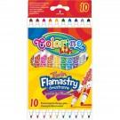 **Flomasteriai Colorino Kids, dvipusiai, 10 spalvų