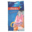 Pirštinės guminės Vileda, M dydžio (P)