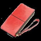Moteriška piniginė - mini rankinė, 11,5x20,5cm, raudona