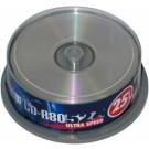 Vienkartinio įrašymo diskai Acme CD-R, 700MB, 52x, 100vnt.