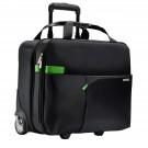 Lagaminas su dėklu kompiuteriui Trolley Smart Traveller juodas (P)