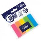 Plastikiniai žymekliai Forpus, 12x44mm, 5 spalvos