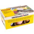 Spalvota kreida EberhardFaber, kiaušinio formos, dėžutėje, 6vnt, įvairių spalvų