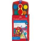 Akvareliniai dažai Faber Castell CONNECTOR, 24 spalvų