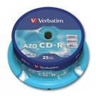 Vienkartinio įrašymo diskai Verbatim CD-R, 700MB, 52x, Extra Protection, 10vnt. ´tortas´