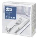 Servetėlės Tork (477554), vakarienės, 2 sluoksniai, 150vnt., baltos spalvos