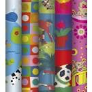 Dovanų pakavimo popierius 2x0,70m, Kids Colours