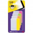 Indeksai plastikiniai Post-it® Super stiprūs, platūs 4spalvų x 6vnt. 50,8mmx38mm(P)