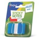 *Plastikiniai žymekliai Forpus, 44x25mm, 50vnt., mėlynos spalvos (P)