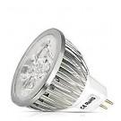 *Lemputė LED, 5.5W, MR16 (GU5.3), 12V, 45 laipsniai, šaltai balta