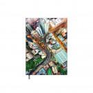 Darbo kalendorius Timer Business Day A5, City, laminuotas viršelis