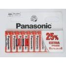 Elementai Panasonic Red Zinc, R03RZ AA, 10vnt