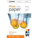 Fotopopierius ColorWay, A4, 230g, blizgus, PG230050A4, 50 lapų