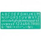 Trafaretas Linex 8510, raidės, 10mm