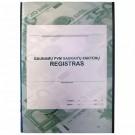 Gaunamų PVM sąskaitų-faktūrų registras, A4, vertikalus, 48 lapų