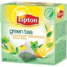 Žalia arbata Lipton, su citrina ir melisa, 20 piramidės formos pak.