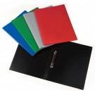 *Žiedinis segtuvas College SAND A4, 1.5cm, plastikinis, 2 žiedų, įvairių spalvų