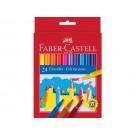Flomasteriai Faber-Castell, 24 spalvų