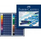 Aliejinės kreidelės Faber-Castell Gofa, 24 spalvos