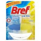 Skystas pakabinamas tualeto gaiviklis Bref DA Lemon, 50 ml