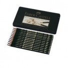 Pieštukai eskizavimui Faber-Castell 9000 Art Set, 8B-2H, 12vnt. (P)