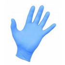 Disposable nitrile gloves SENSIFLEX, M size, blue sp., without powder, 100 pcs.