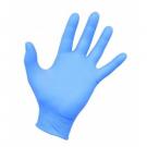 Disposable nitrile gloves SENSIFLEX, S size, blue sp., without powder, 100 pcs.