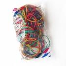 Kanceliarinės gumytės Attomex, 60mm, 100g, įvairių spalvų