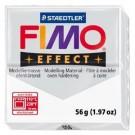 Modelinas Fimo, 56g, skaidrios baltos spalvos