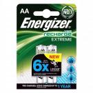 Įkraunami elementai Energizer HR6 AA, 2 vnt pakuotė