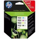 Rašalo kasečių komplektas HP C2N92AE Nr. 920XL,cmYK (P)
