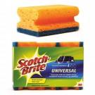 Kempinė indams Scotch-Brite™ ypač efektyvi, nagus sauganti 3vnt.(P)