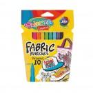**Flomasteriai-žymekliai audiniams Colorino Creative, 10 spalvų