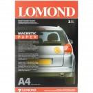 Fotopopierius Lomond, A4, 85g, blizgus, su magnetiniu pagrindu skirtas magnetukų gamybai