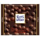 Tamsusis šokoladas Ritter Sport, su neskaldytais lazdynų riešutais, 100g