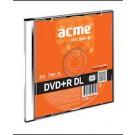 *Acme DVD+R, Double layer, 8,5GB, 8X, plonoje dėžutėje